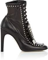 Sergio Rossi WOMEN'S SR1 STUDDED LACE-UP ANKLE BOOTS