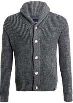 Superdry JACOB SHAWL Cardigan tweed grey twist