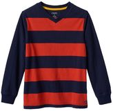 Chaps Boys 4-7 Striped Tee