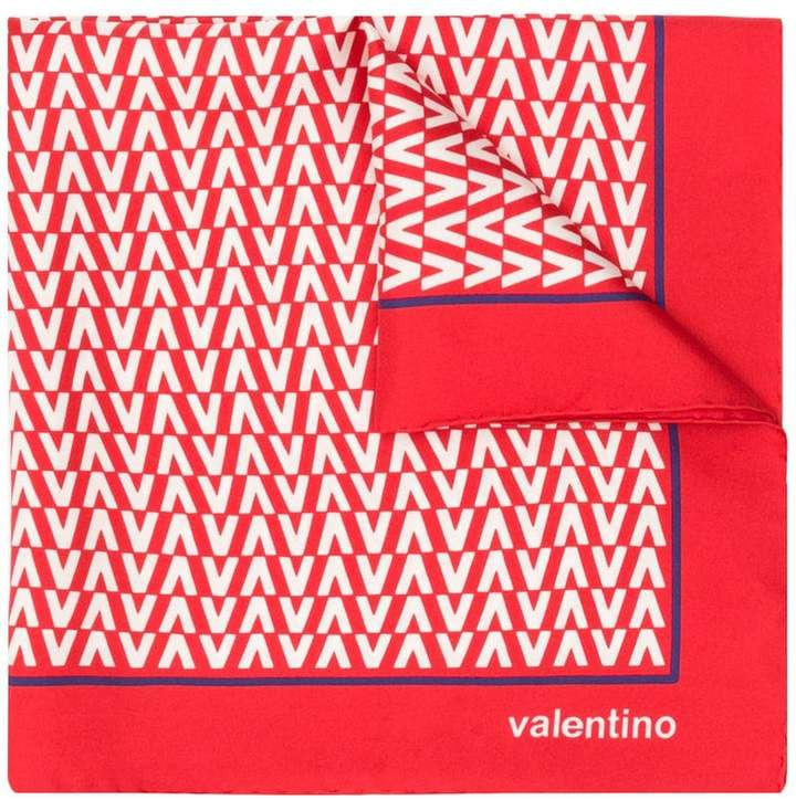 Valentino Optical V scarf
