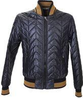 Dolce & Gabbana Padded Nylon Bomber Jacket