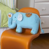 Elephant Shaped Nursery Pillow by The Little Acorn