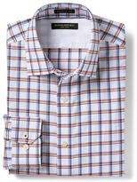 Banana Republic Camden-Fit Non-Iron Windowpane Print Shirt