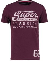 Superdry Print Tshirt Bordeaux