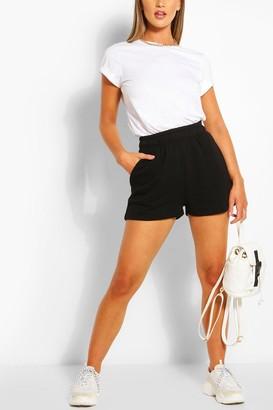 boohoo Pocket Detail Sweat Shorts
