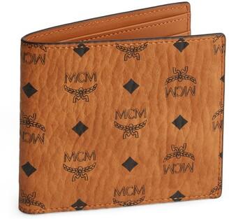 MCM Leather Visetos Bifold Wallet