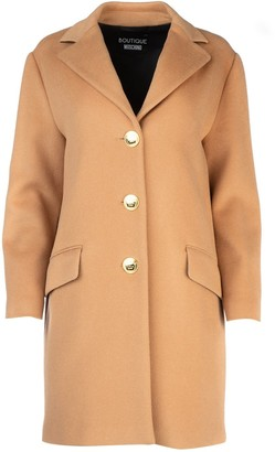 Boutique Moschino Single Breasted Coat