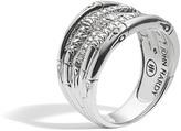 John Hardy Bamboo Ring with Diamonds