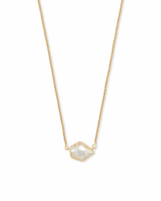Kendra Scott Tess Gold Pendant Necklace