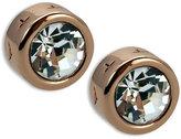 T Tahari Earrings, Rose Gold-Tone Signature Stud Earrings
