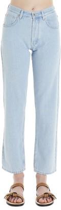 Loewe Embroidered Pocket Jeans