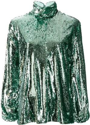 Racil sequin embellished top