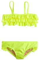 J.Crew Girls' ruffle bikini set