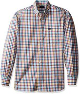 Façonnable Men's Classic Fit Exclusive Herringbone Check Woven
