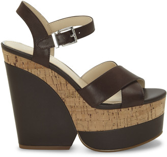 Jessica Simpson Women's Jirie In Color: Slumber Brown Shoes Size 5 Leather From Sole Society