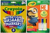Crayola Despicable Me Activity Book & Washable Broad Line Marker Set