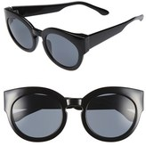 A. J. Morgan Women's A.j. Morgan 'Sophia' 52Mm Sunglasses - Black
