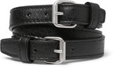 Balenciaga - Wrapped Creased-leather Bracelet