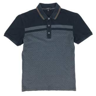 Gucci Grey Cotton Polo shirts