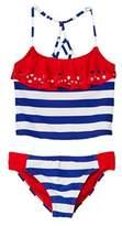 YMI Jeanswear Girls' Stars N Stripes 2pc Swimsuit.
