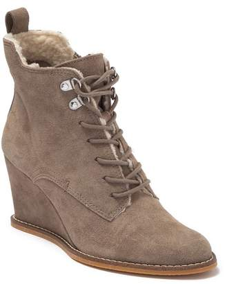 Dolce Vita Gena Faux Fur Lined Wedge Bootie