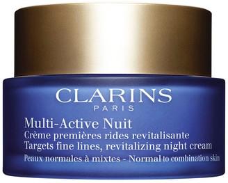 Clarins Multi-active Night Cream - Normal To Combination Skin 1.6 Fl Oz/ 50 Ml