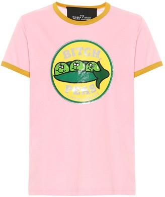 Marc Jacobs The Ringer cotton-jersey T-shirt