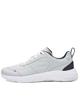 Puma CARE OF by Men's Leather Low-Top Casual Trainer, (Grey)
