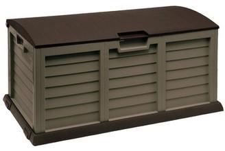 103 Gallon Plastic Deck Box Starplast Color: Mocha/Brown
