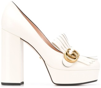 Gucci platform fringe 120 loafers