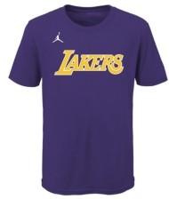 Jordan Youth Los Angeles Lakers Statement Wordmark T-Shirt