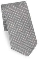 Brioni Concentric Ovals Printed Tie