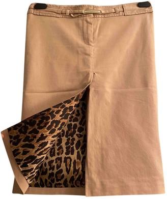 Dolce & Gabbana Beige Cotton Skirt for Women