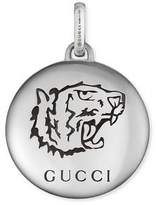"Gucci Blind For Love"" charm in silver"