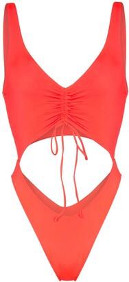 Frankie's Bikinis Emma cutout swimsuit