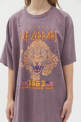 Def Leppard 1983 Tour T-Shirt Dress