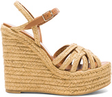 Saint Laurent Espadrille Wedges