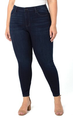 Liverpool Los Angeles Abby Ankle Skinny Jeans