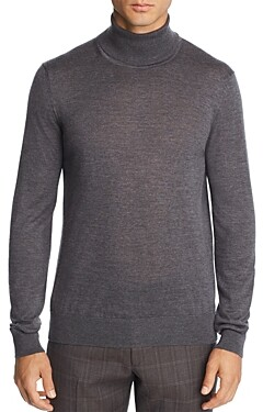 Bloomingdale's The Men's Store At The Men's Store at Merino Wool Turtleneck Sweater - 100% Exclusive