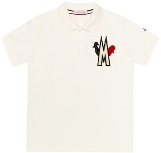 Moncler Enfant Cotton polo shirt