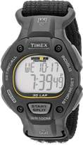 Timex Men's T5K693 Ironman Classic 30 Full-Size Velcro Strap Watch