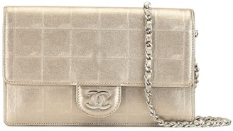 Chanel Pre Owned 2008 New Travel Line wallet on chain