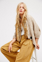 FP X Womens HOT TODDY CABLE KNIT KIMO