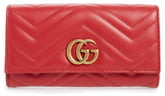 Gucci GG Matelasse Leather Continental Wallet