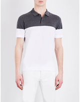 Brunello Cucinelli Regular-fit Knitted Cotton Polo Shirt
