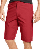American Rag Men's Solid Slim-Fit Poplin Chino Shorts