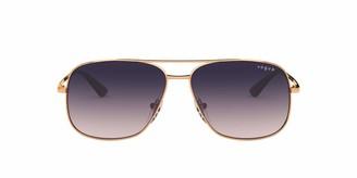 Vogue VO4161S Rectangular Metal Sunglasses
