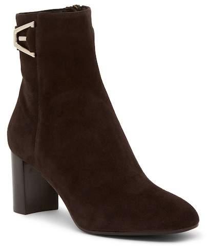 Aquatalia Venezia Dress Suede Weatherproof Ankle Boot
