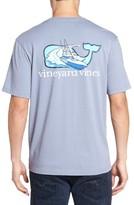 Vineyard Vines Men's Sportfisher Whale Pocket T-Shirt