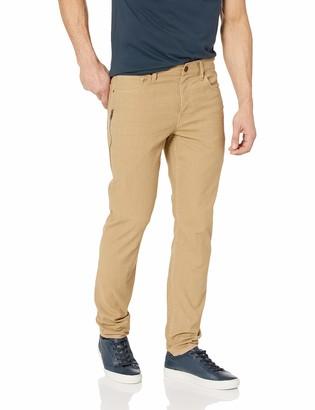 Hudson Men's Sartor Relaxed Skiny W/Ss Zip Twill